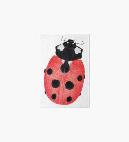 Ladybug Art Board Print
