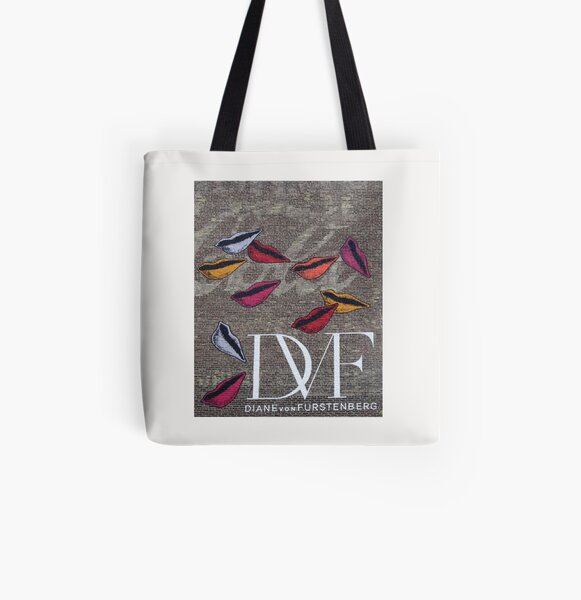 DVF All Over Print Tote Bag