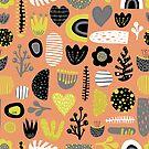 Scandinavian Form Shapes by Sandra Hutter