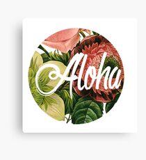 Aloha! Canvas Print