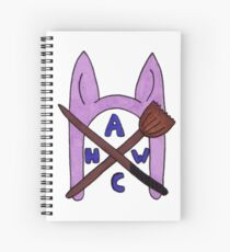 Animal Hat Witch Coven Official Logo Spiral Notebook