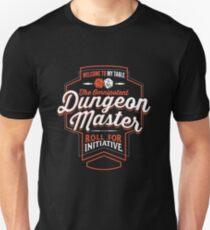 DUNGEON MASTER D & D T-Shirt DM GM Slim Fit T-Shirt