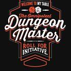 DUNGEON MASTER D&D Tshirt DM GM  by Carl Huber
