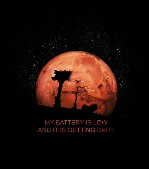 mars rover battery is low - photo #30