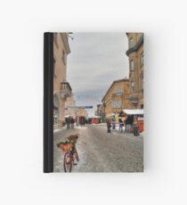 Street for pedestrians Hardcover Journal