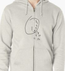 Will Graham Clock Zipped Hoodie