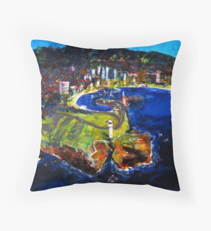 The Gong Throw Pillow