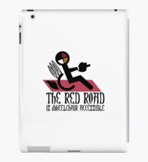 The Red Road is Wheelchair Accessible iPad Case/Skin