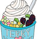 Terry Luvs Yogurt by Shayli Kipnis