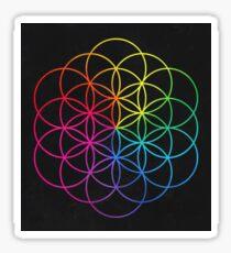 Rainbow Circles Sticker