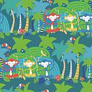 Green Jungle Beauty by Sandra Hutter