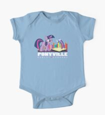 Ponyville Public Library One Piece - Short Sleeve