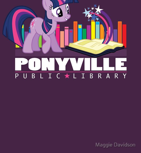 Ponyville Public Library by Maggie Davidson