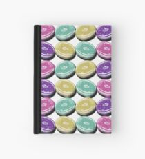 Iced Ring Donuts Hardcover Journal