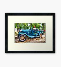 Antique Transportation  Framed Print