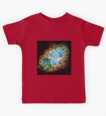 Galaxy Crab Kids Tee