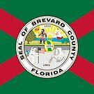 Flag of Brevard County, Florida by PZAndrews