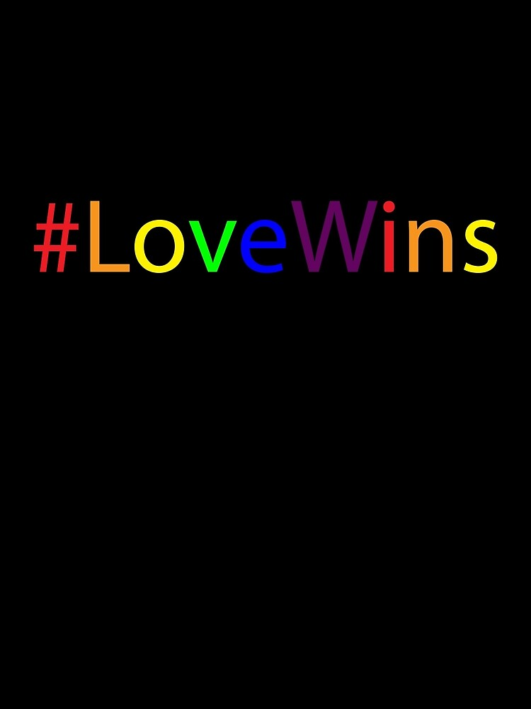 #Love Wins - Rainbow by CoppersMama