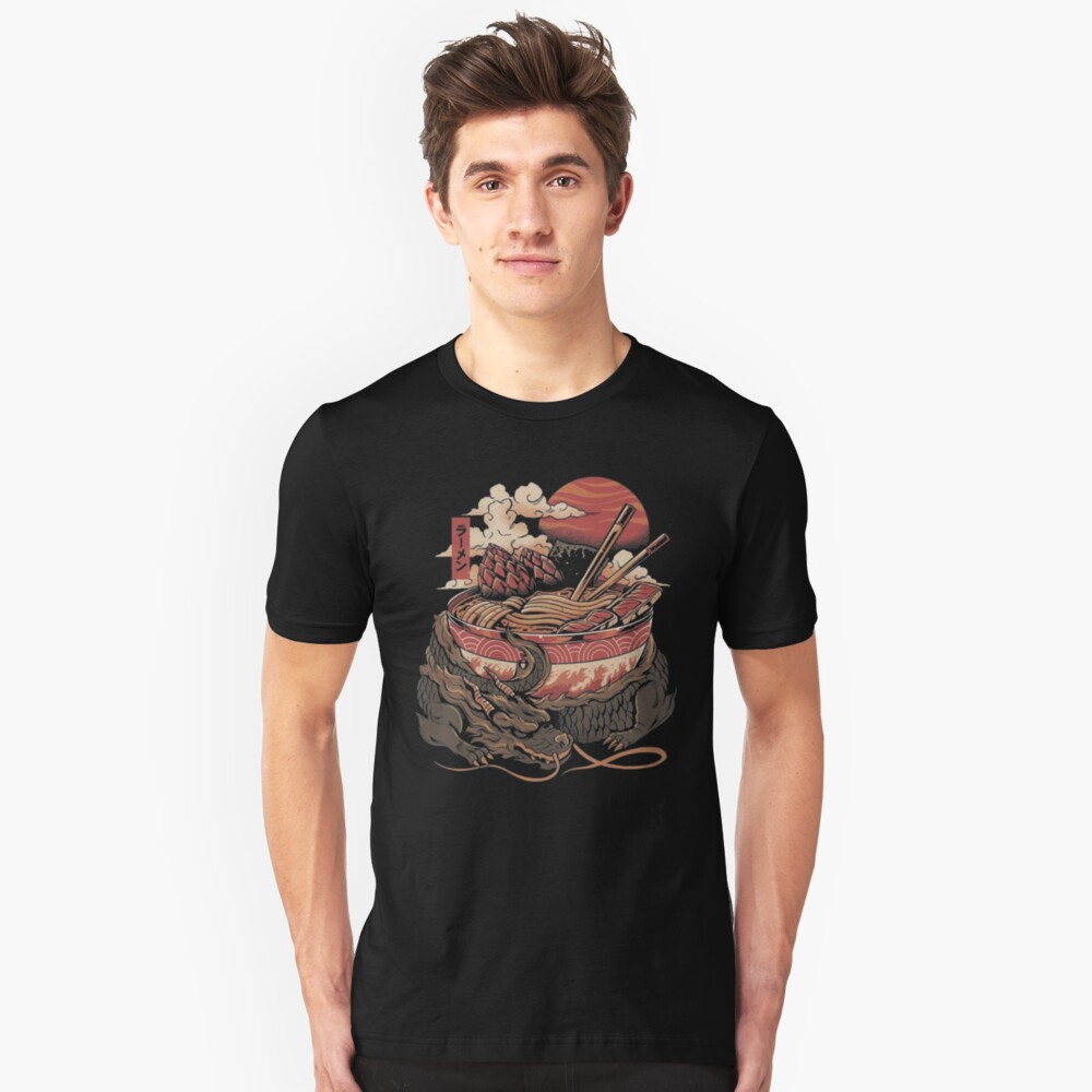 DRAGONS RAMEN Slim Fit T-Shirt