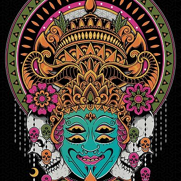 The Mask Dancer by GODZILLARGE