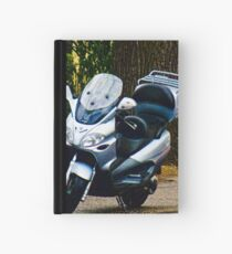 Face on a Moped, Bolzano/Bozen, Italy Hardcover Journal