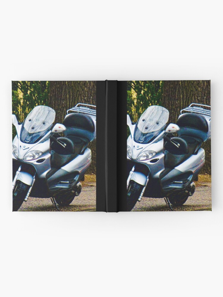Alternate view of Face on a Moped, Bolzano/Bozen, Italy Hardcover Journal