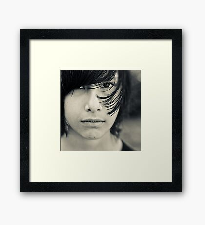 fast growing Framed Print