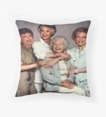 The Golden Girls Throw Pillow