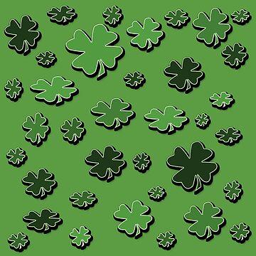 Lucky Four-Leaf Clover  by CarolM