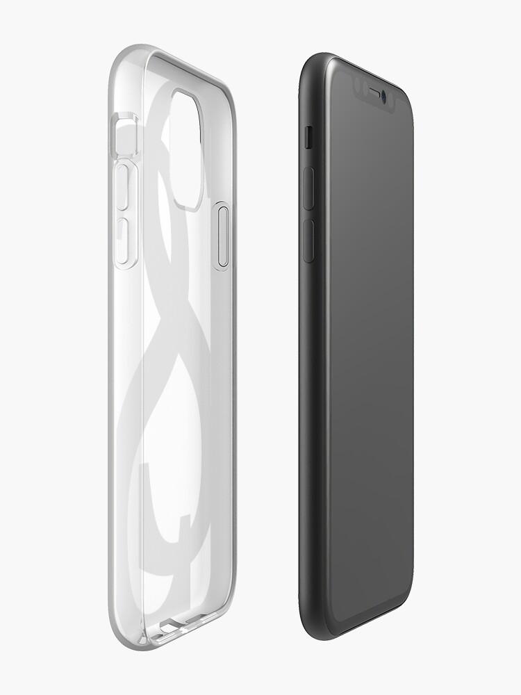 coque iphone x 0.35 | Coque iPhone «Histoire de réussite - La marque à remplacer * ucci», par Servaas101