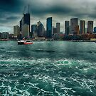 Sydney sightseeing ferry by andreisky