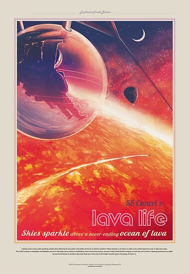 NASA JPL Exoplanet Reisebüro: 55 Cancri e von bobbooo