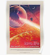 NASA JPL Exoplanet Reisebüro: 55 Cancri e Poster