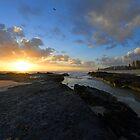 Currumbin Beach Sunrise, Gold Coast, Australia  by Ralph de Zilva
