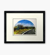 The Distance Between You and I... (panel #1) Framed Print