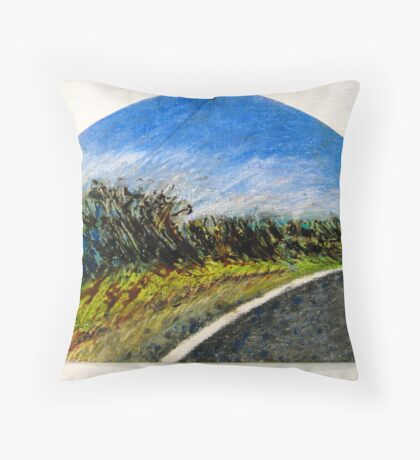 The Distance Between You and I... (panel #1) Throw Pillow
