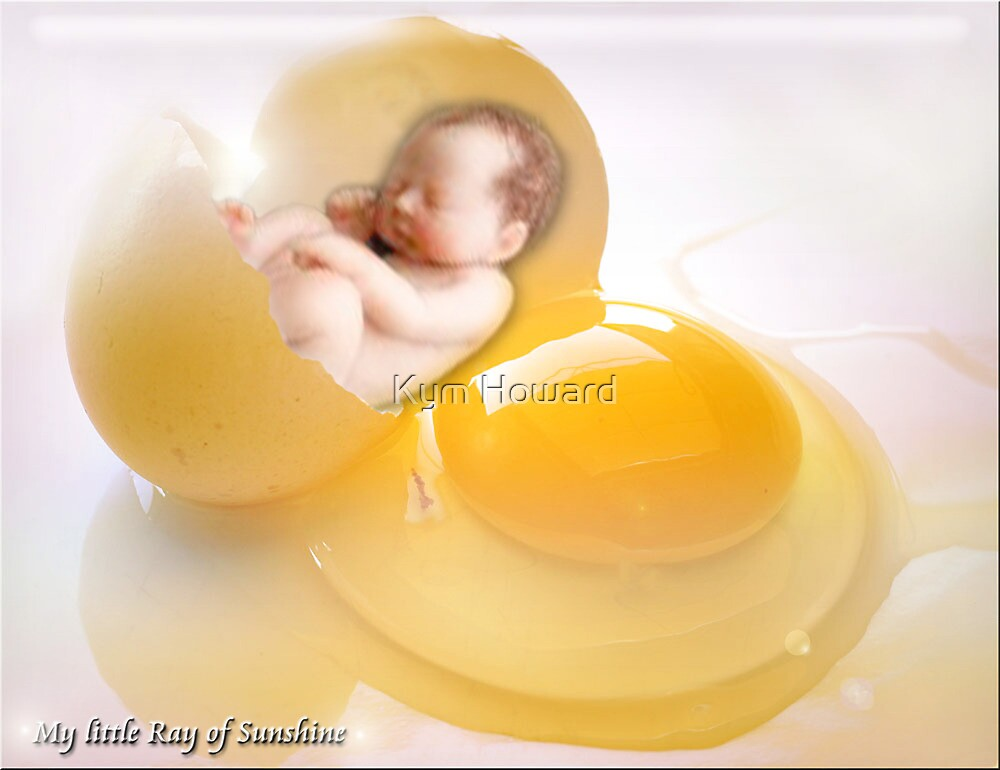 My Little Ray of Sunshine by Kym Howard