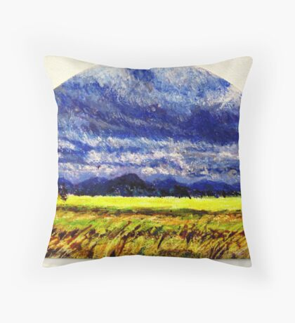 The Distance Between You and I... (panel #2) Throw Pillow