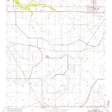 USGS TOPO Map Louisiana LA Iowa 332297 1955 24000 by wetdryvac