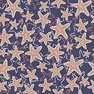 Underwater Sea Star by Sandra Hutter