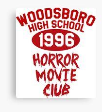 Woodsboro High Horror Movie Club 1996 Canvas Print