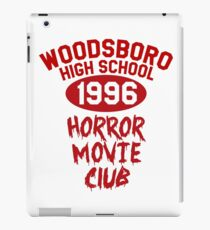 Woodsboro High Horror Movie Club 1996 iPad Case/Skin