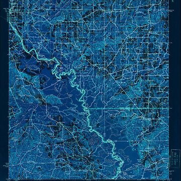 USGS TOPO Map Louisiana LA Logansport 334760 1944 62500 Inverted by wetdryvac