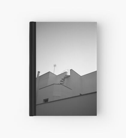 The sky & a building. Hardcover Journal