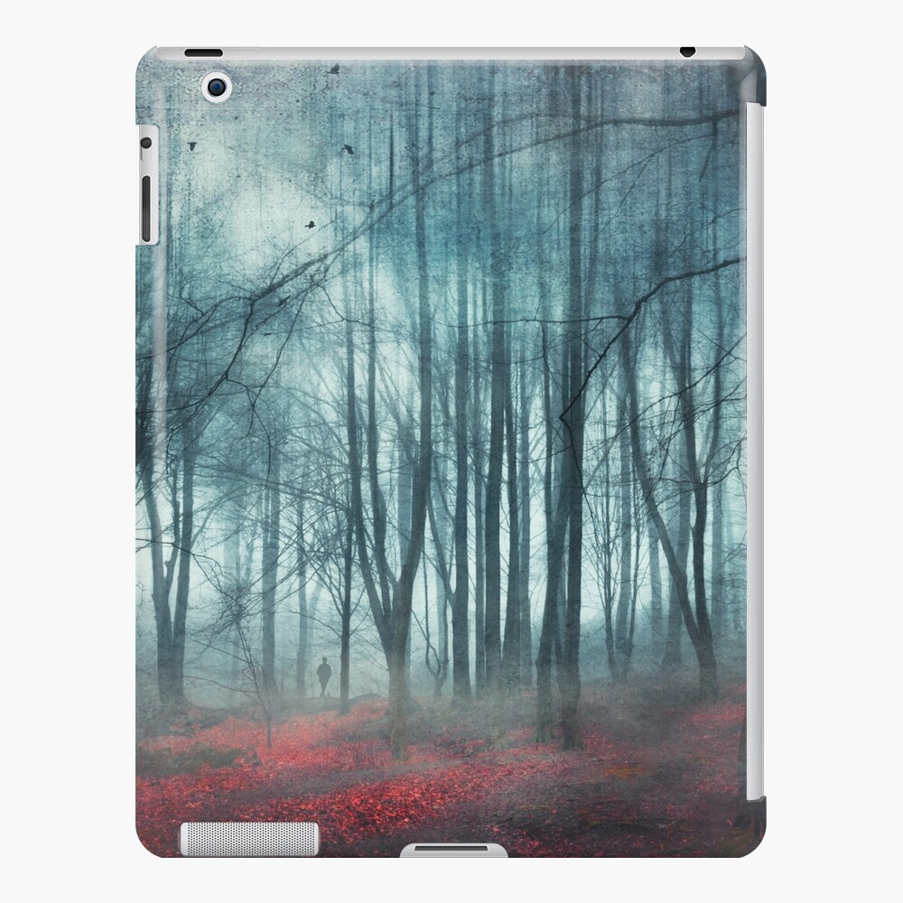 escape route - misty forest scenery iPad Case & Skin