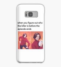 All figured out! Samsung Galaxy Case/Skin