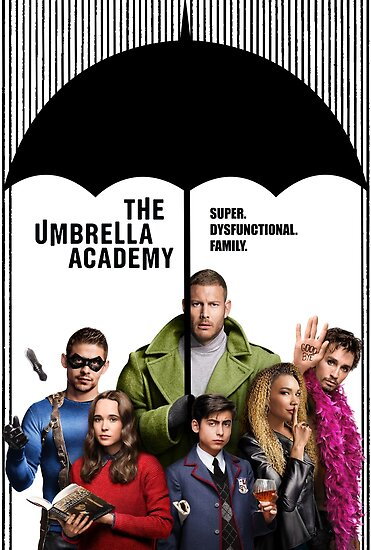 Image result for Umbrella Academy Poster