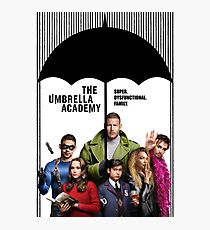 The whole Umbrella Academy Photographic Print