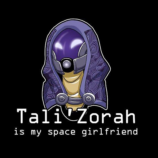 Tali is My Space Girlfriend by Maggie Davidson
