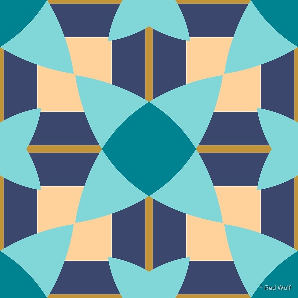 Geometric Pattern: Flower Weave: Dream by * Red Wolf